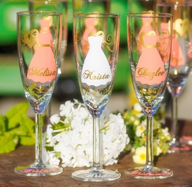 RESERVED For Kathryn. Add One More Glass. Bride, Bridesmaid Gift ...