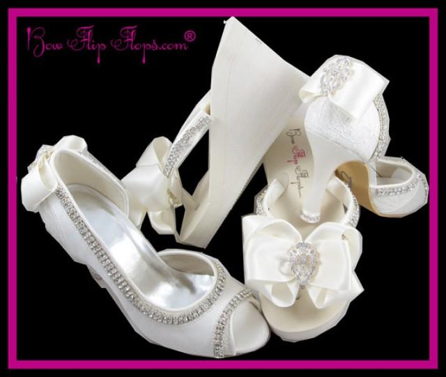Inch Ivory Wedding Shoes