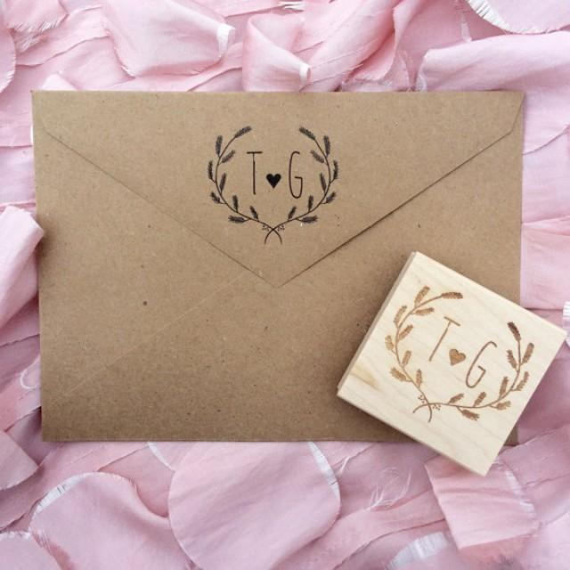 Initial Stamp / Save The Date Stamp / Wedding Stamp / Love ...