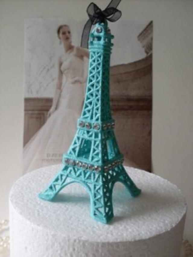 Eiffel Tower Wedding Cake Ideas