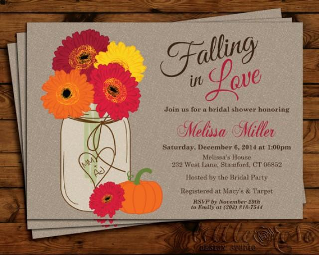 fall flowers mason jar bridal shower invitation thanksgiving bridal shower invite wedding shower daisies baby shower printable 2296609