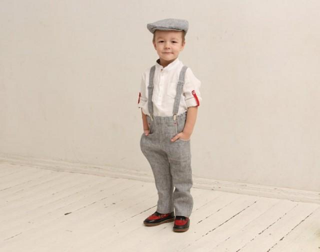 Ring Bearer Outfit Wedding Party Outfit Family Photo Prop Outfits ...