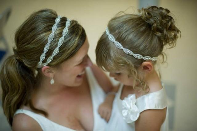 Bridal Headband Weddings Hair Accessories Headpiece Double Rhinestone Wedding ATHENA DOUBLE 2297236