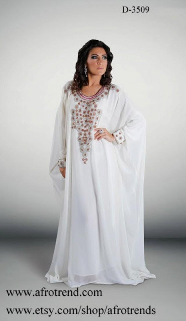 Dubai Kaftan Abaya Khaleeji Jalabiya Dress Wedding Dress