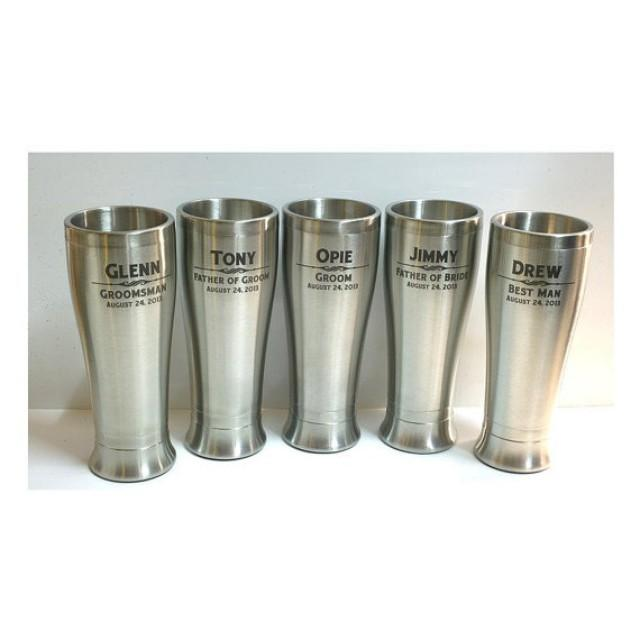 Best Man Wedding Gift Ideas: Stainless Steel Tumbler,Personalized Beer Glasses,Wedding