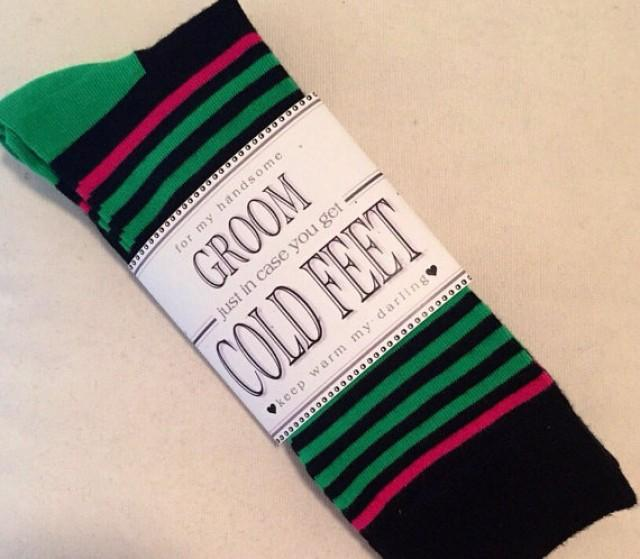 """What Do You Get Your Bride For A Wedding Gift: Fabulous Groom's Wedding Gift From Bride """"Happy Socks"""