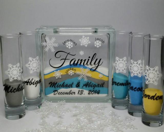Blended Family Wedding Invitations: Unity Sand Set For Blended Family