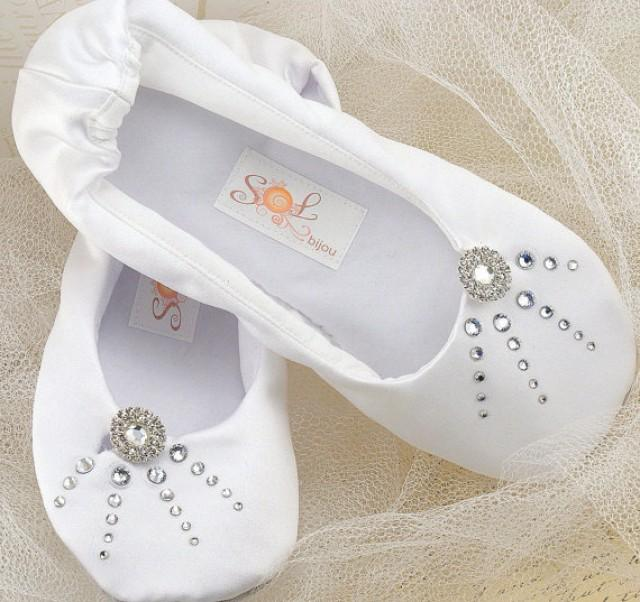 White Slipper Shoes