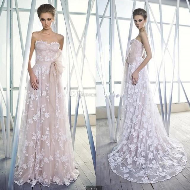 Color 2015 A-line Wedding Dresses With Sash Sweetheart