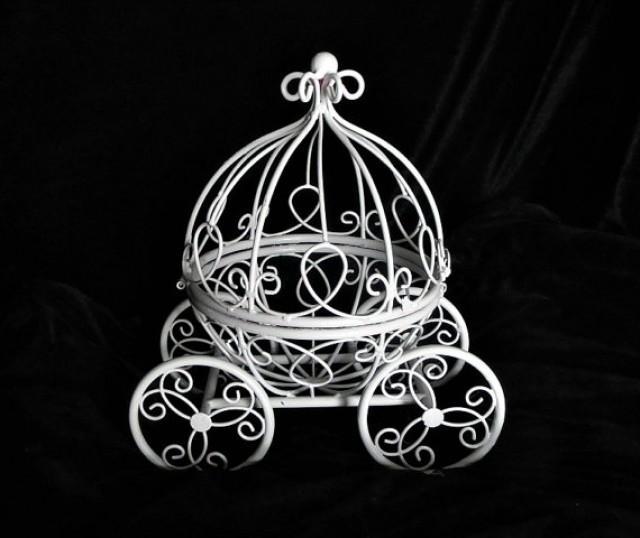 Princess Cinderella Carriage Centerpiece Fairy Tail Use As