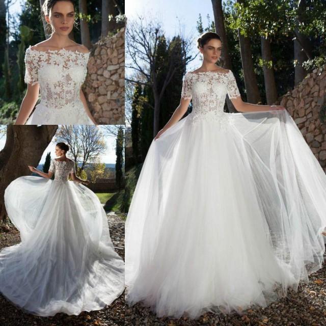 2015 New Arrival Vintage Wedding Dresses Lace Short
