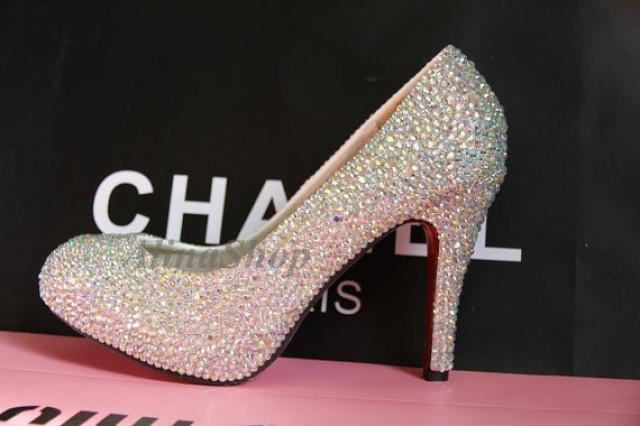 sparkle bottom shoes