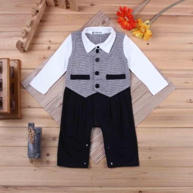 0c6f3cc18 Fashionable Black And White Baby Boy Formal Wear For Indian Toddlers ...
