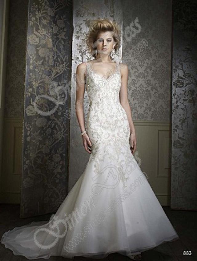 Alfred Angelo Sapphire Wedding Dresses Style 883 2322924 Weddbook