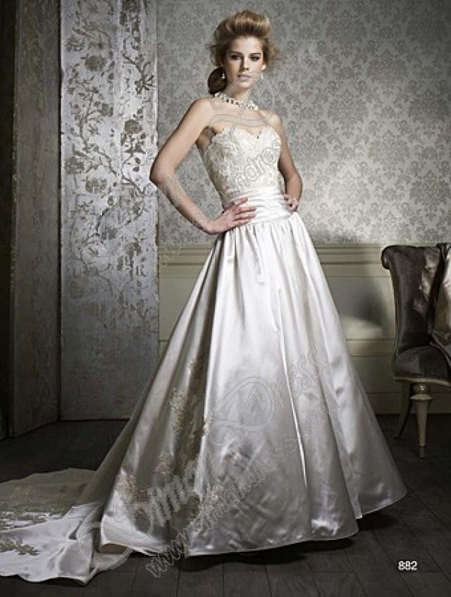 Alfred Angelo Sapphire Wedding Dresses Style 882 2323406 Weddbook