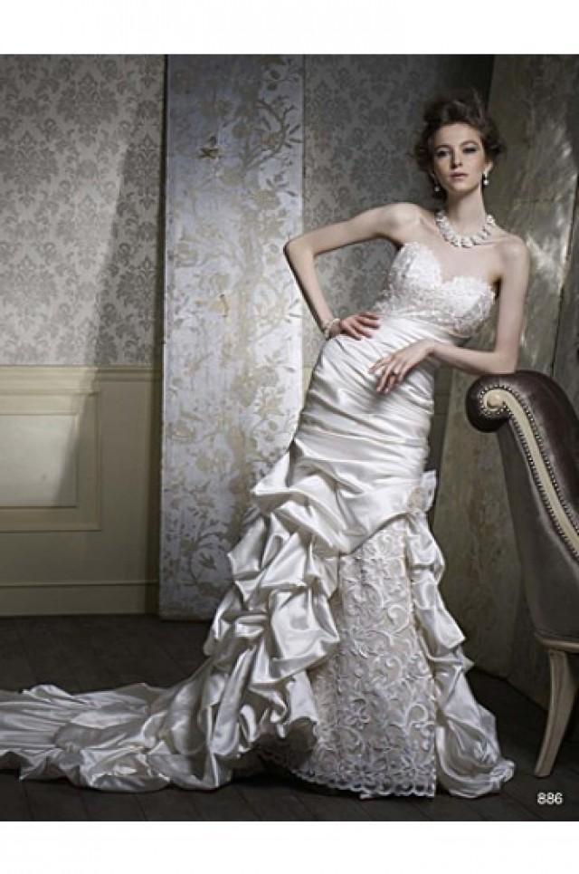Alfred Angelo Sapphire Wedding Dresses Style 886 2324903 Weddbook