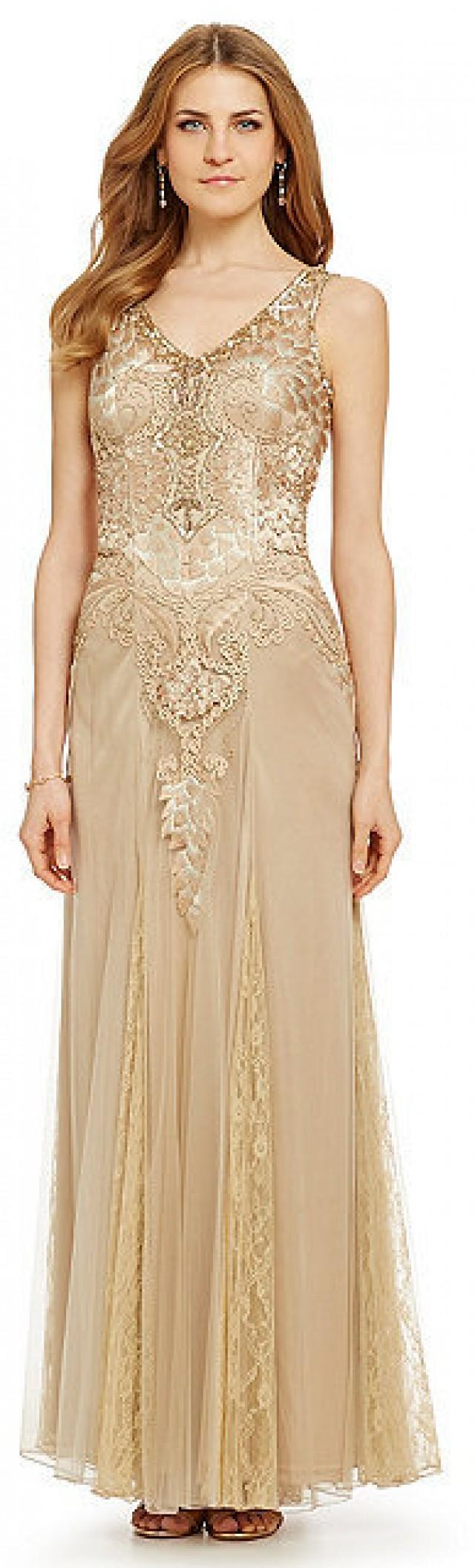 Sue Wong Embroidered Beaded Gown #2326208 - Weddbook