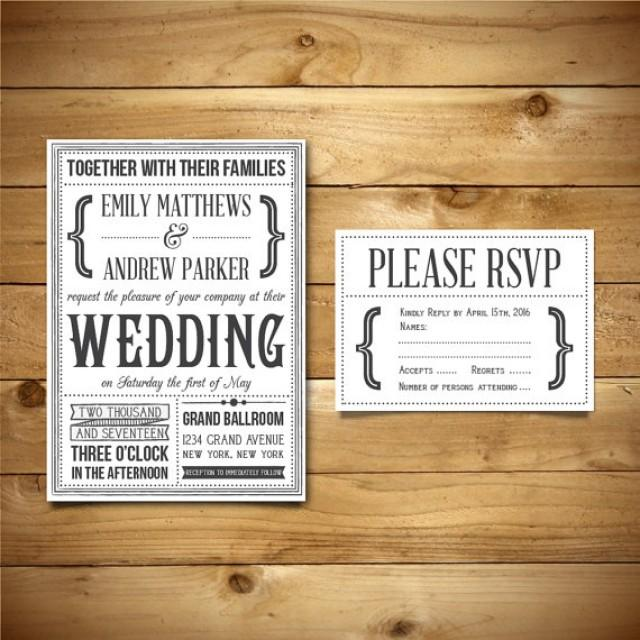 printable wedding invitation  u0026 rsvp templates