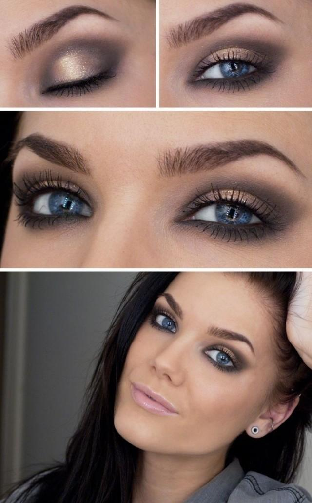 Day Eyeshadow Tutorial: Bride With Sass Wedding Day Makeup #2329423