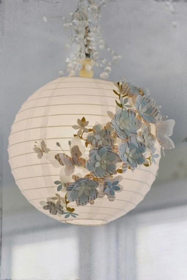 декор из старых лампочек в гофрированную бумагу может получить ВНЖ