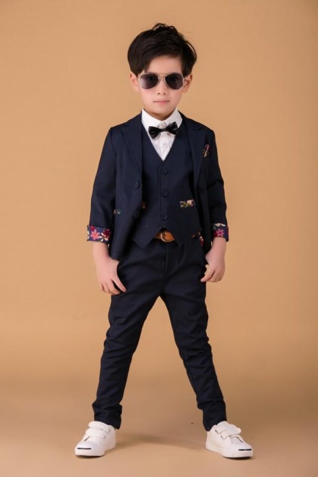Beautiful Navy Blue Formal Clothing For Kids 2334148 Weddbook
