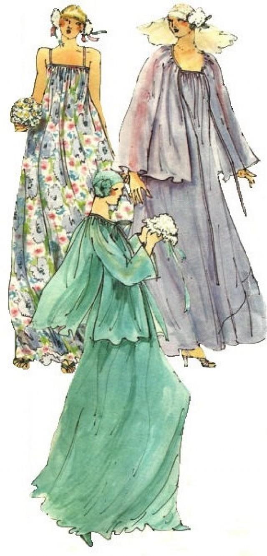 Vogue 1590 vintage 1970s sewing pattern paris original for Yves saint laurent wedding dress