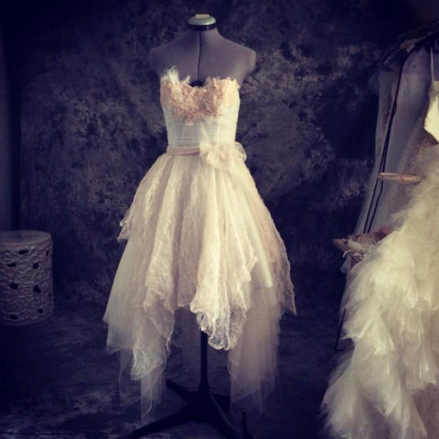 Betty perfect vintage fairy wedding dress lace and tulle short betty perfect vintage fairy wedding dress lace and tulle short wedding dress 2335129 weddbook sciox Choice Image