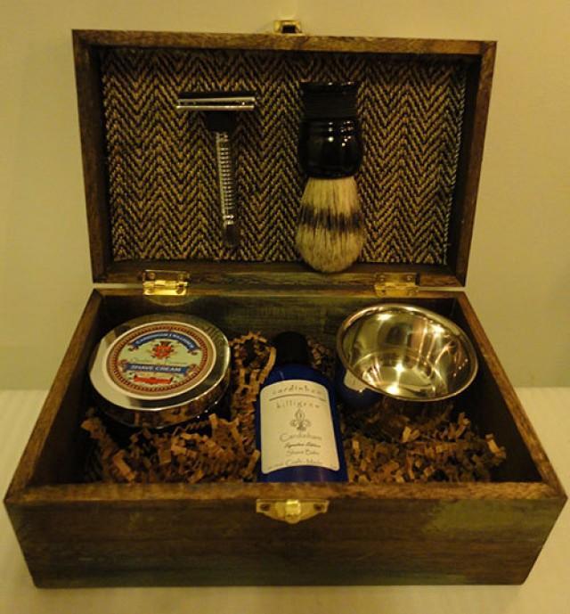 Groomsmen Shaving Kit Ombre Vintage Rustic Garden Themed Groomsmen Gift For Wedding Groomsman Gift Idea 2336371 Weddbook