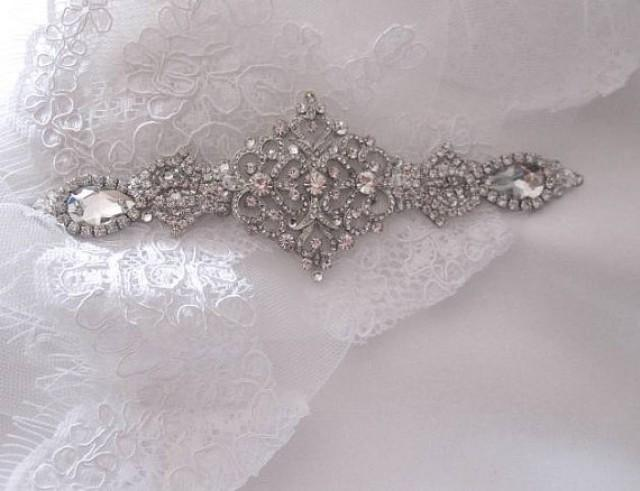 Bridal Wedding Dress Gown Beaded Crystal Embellishment Sash 2337232 Weddbook