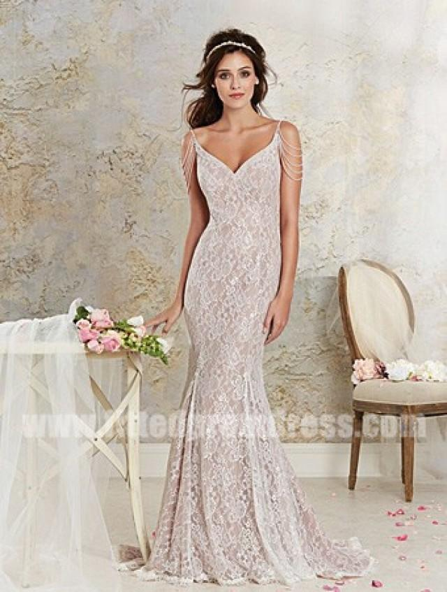Alfred Angelo 8531 Lace Fit And Flare Wedding Gowns 2338634 Weddbook