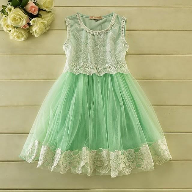 Mint green tulle lace girl dress flower girl wedding dress mint green tulle lace girl dress flower girl wedding dress wedding tulle dress lace flower girl dress baby girl dress birthday dress 2339595 mightylinksfo