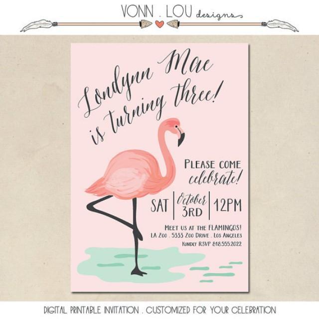 Flamingo invitation flamingo party pool party baby shower flamingo invitation flamingo party pool party baby shower bridal shower wedding hand illustrated diy custom invite printable 2340896 filmwisefo Choice Image
