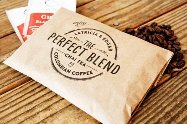 Wedding Favor Coffee Bag
