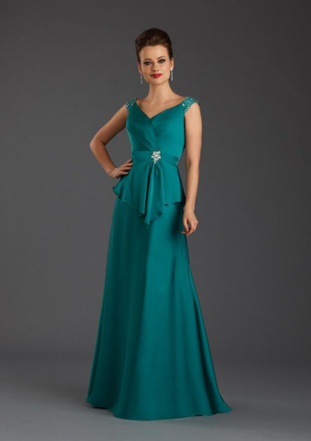 Buy Australia 2015 Jade A-line V-neck Neckline Beaded ...