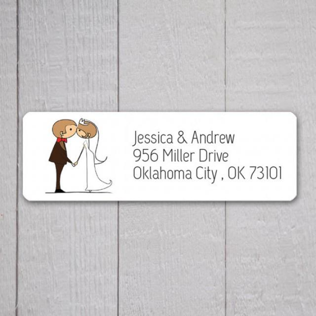 how to word return address for wedding invitation