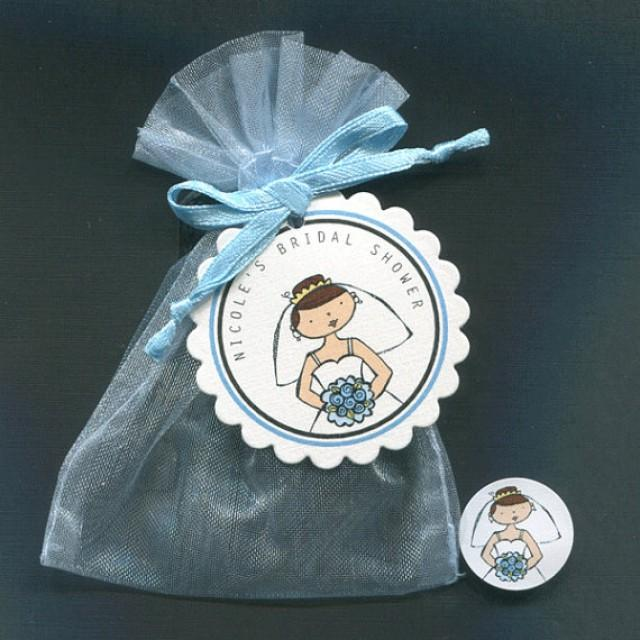 Bridal Shower Favor Candy Bags