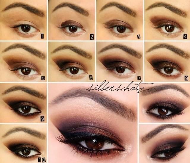5 Best Beautiful & Sexy Smokey Eye Makeup Tutorial