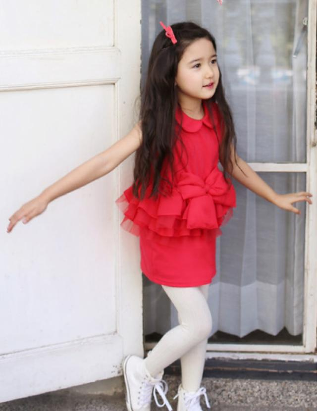 Baby Red Party Wear Dress 2349193 Weddbook