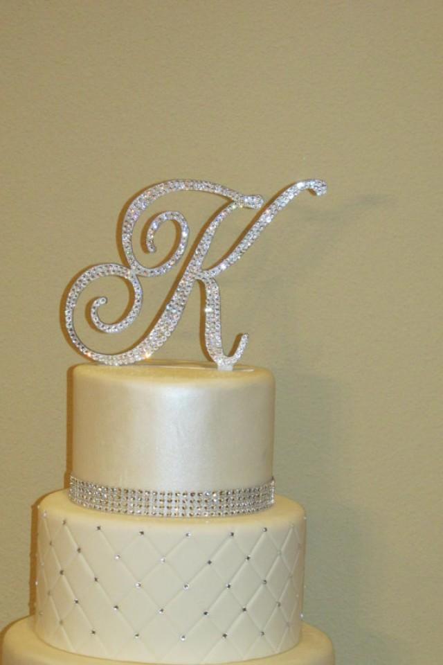 Letter F Wedding Cake Topper