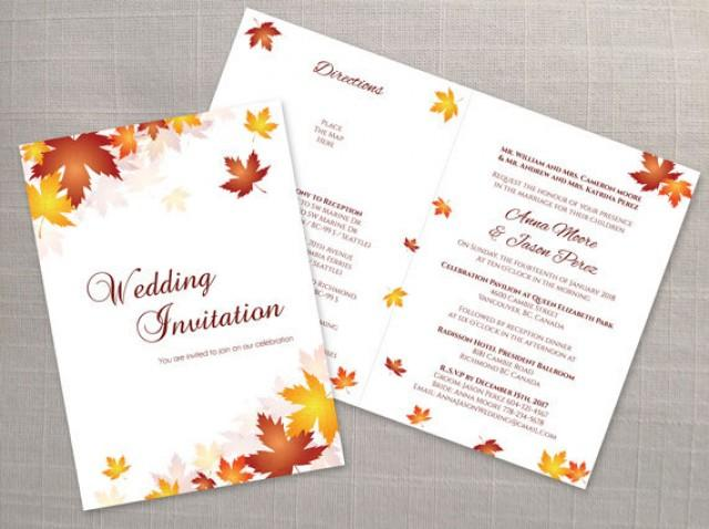 half page invitation template