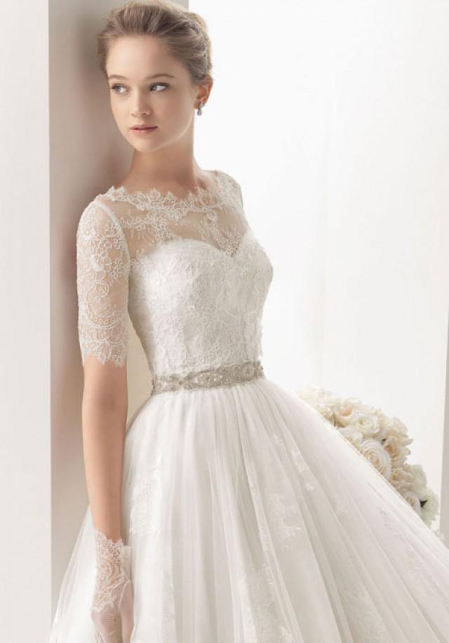 Sweetheart Empire Waist Elegant Luxurious Wedding Dress Bessprom 2358857 Weddbook
