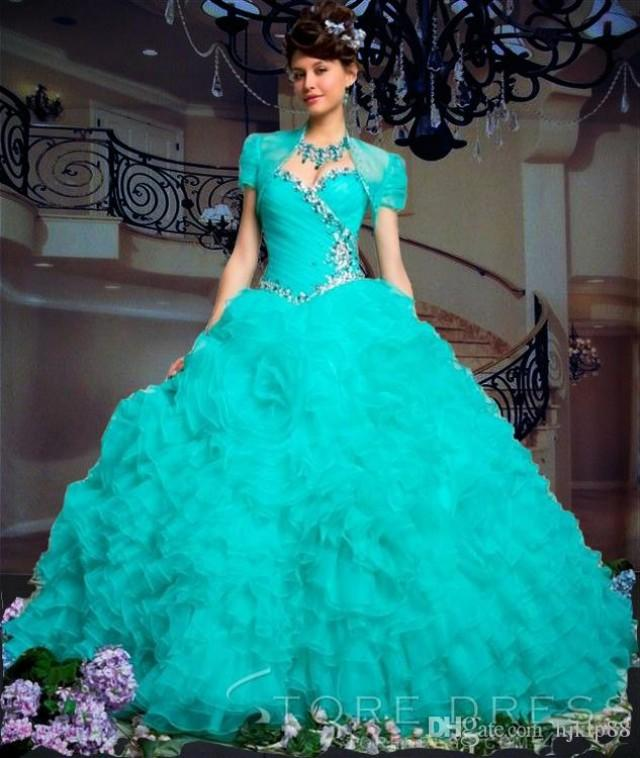 a45bc9ba50 Red And White Quinceanera Dresses Roman Empire Ball Gown Sweetheart Beading  Ruffles Beading Corset Charming Ruffled Organza Turquoise Quinceanera  Dresses ...
