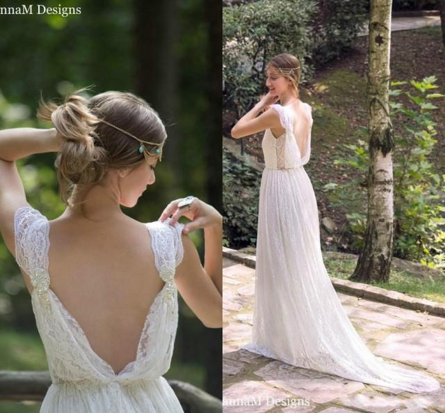 Bohemian Wedding Dress: Exquisite Bohemian Wedding Dresses Lace 2016 Long Boho
