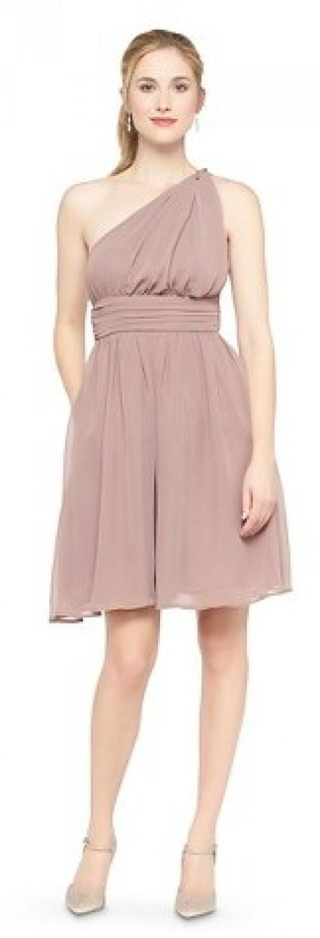 one shoulder chiffon te – Fashion dresses