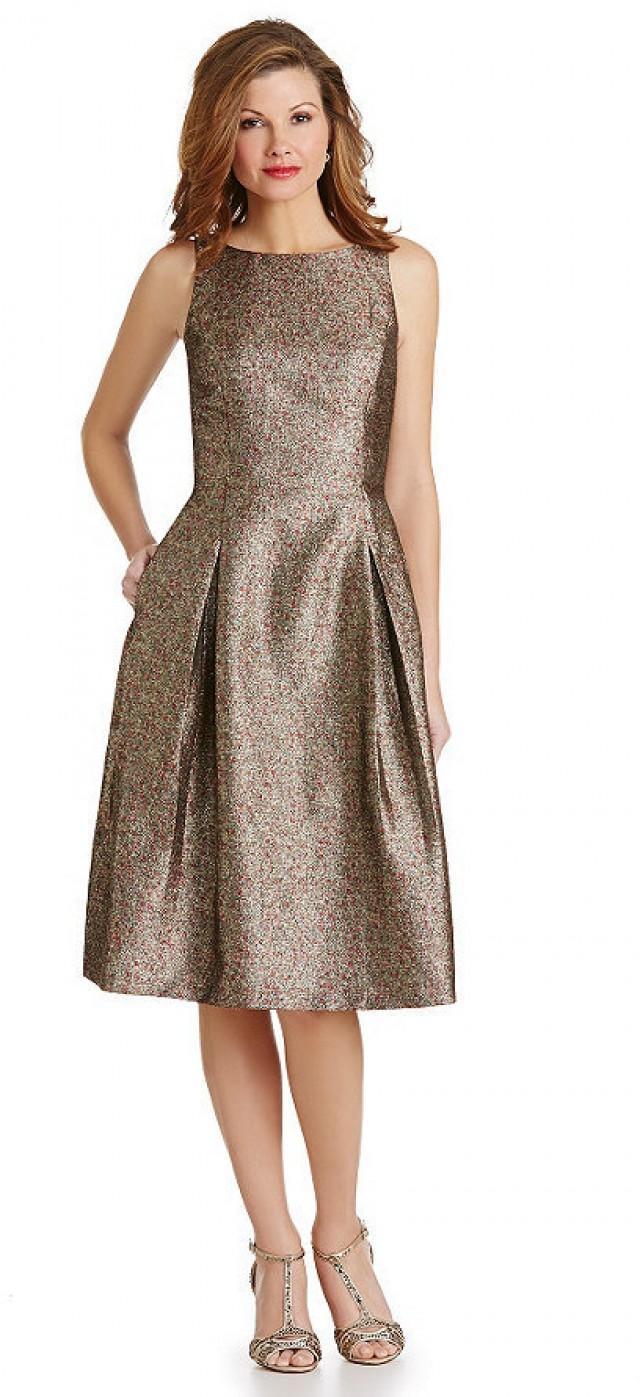 Gold Metallic Kleid Stylische Kleider F 252 R Jeden Tag