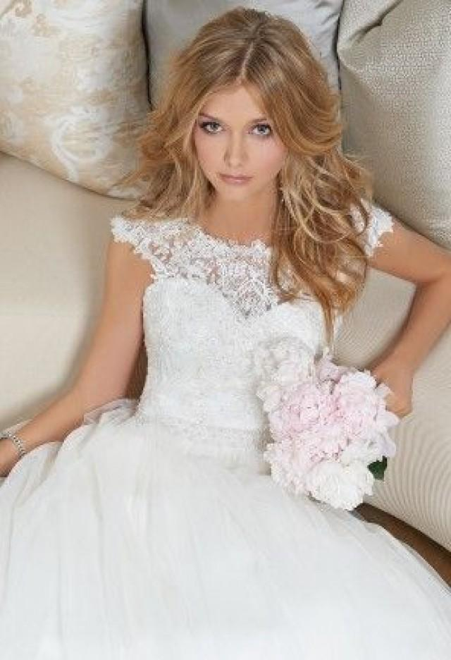 Lace Cap Sleeve Wedding Dress From Camille La Vie And Group USA ...