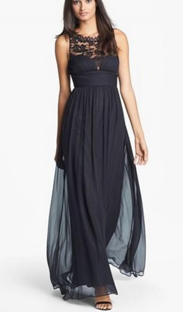 Women\'s JS Boutique Strapless Ruched Chiffon Gown #2366407 - Weddbook