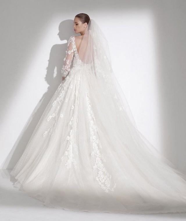 Robe de mariee manche trois quart