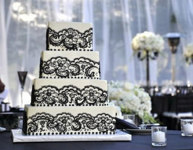 Matrimonio Tema Black And White : Tema de la boda black and white wedding cakes