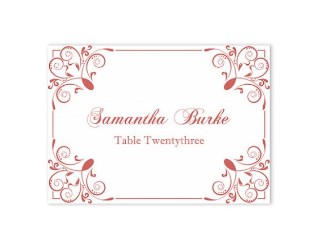 How To Make Wedding Place Cards In Microsoft Word Images - Wedding place cards template for microsoft word